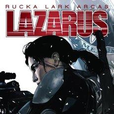 Cómics: CÓMICS. LAZARUS 4 - GREG RUCKA/MICHAEL LARK/SANTIAGO ARCAS. Lote 67354937