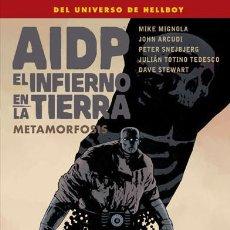 Fumetti: CÓMICS. AIDP 29. EL INFIERNO EN LA TIERRA 12. METAMORFOSIS - MIKE MIGNOLA/JOHN ARCUDI/PETER SNEJBJER. Lote 67355277