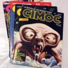 Cómics: CIMOC E.T. EL EXTRATERRESTRE NUMERO 41 49 51 56 NORMA EDITORIAL COMICS LOTE COMIC PARA ADULTOS 1984 . Lote 67608713