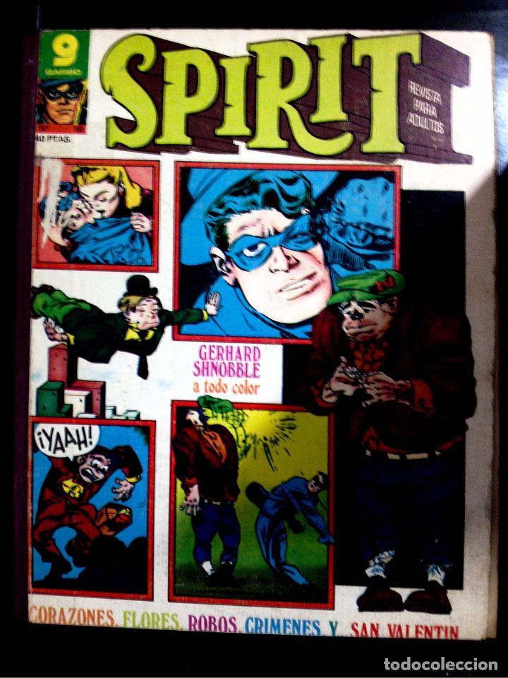 SPIRIT, TOMO CON LOS NÚMEROS 9-10-11-12-14-15-16, EDITORIAL GARBO, 1975 (Tebeos y Comics - Norma - Otros)