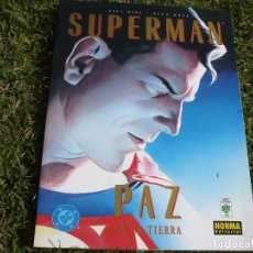 Comics : SUPERMAN: PAZ EN LA TIERRA. ALEX ROSS & PAUL DINI. NORMA EDITORIAL.. Lote 67815721