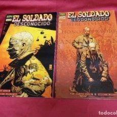 Comics - EL SOLDADO DESCONOCIDO. COMPLETA. DOS EJEMPLARES. 1 Y 2. NORMA EDITORIAL. - 68074065