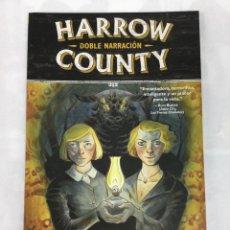 Cómics: HARROW COUNTY 2. DOBLE NARRACIÓN - CULLEN BUNN, TYLER CROOK - NORMA EDITORIAL. Lote 68834769