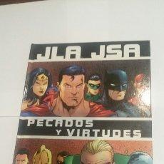 Cómics: JLA JSA PECADOS Y VIRTUDES EXCELENTE ESTADO DC DAVID S. GOYER, GEOFF JOHNS, CARLOS PACHECO. Lote 68837958
