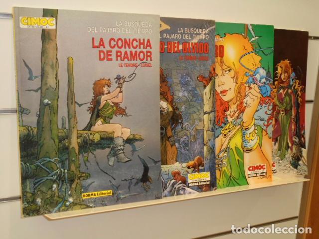 LA BUSQUEDA DEL PAJARO DEL TIEMPO COMPLETA 4 TOMOS COLECCION CIMOC EXTRA COLOR - NORMA OFERTA (Tebeos y Comics - Norma - Comic USA)