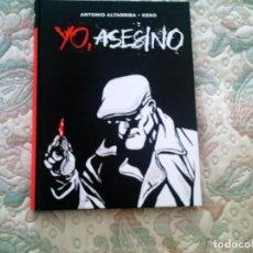 Cómics: YO, ASESINO, DE KEKO Y ANTONIO ALTARRIBA (CARTONE, B/N, 136 PAGINAS). Lote 69674197