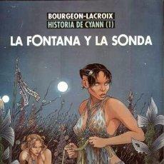 Cómics: LA FONTANA Y LA SONDA - HISTORIA DE CYANN 1 - NORMA EXTRA COLOR 117. Lote 69810809