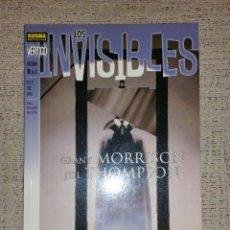 Cómics: DC CÓMICS VÉRTIGO - LOS INVISIBLES ARCADIA LIBRO 1 (NORMA COMICS). Lote 70033881