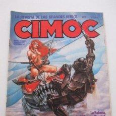 Cómics: CIMOC Nº 31 ALFONSO FONT BRECCIA BERNET PELLEJERO ORTIZ SEGURA CARLOS GIMENEZ NORMA C77. Lote 71114941