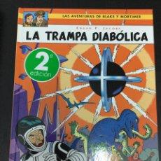 Cómics: BLAKE Y MORTIMER 6. LA TRAMPA DIABÓLICA - EDGAR P. JACOBS - NORMA EDITORIAL. Lote 71473383
