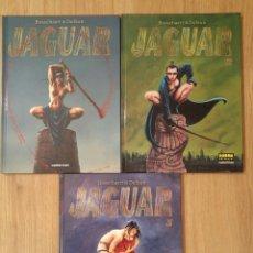 Cómics: JAGUAR OBRA COMPLETA 3 TOMOS DE BOSSCHAERT & DUFAUX. ED NORMA. Lote 71550735