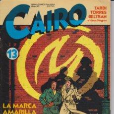 Cómics: CAIRO Nº 13. Lote 71554195