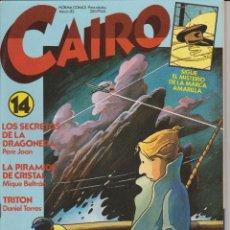 Cómics: CAIRO Nº 14. Lote 71554263