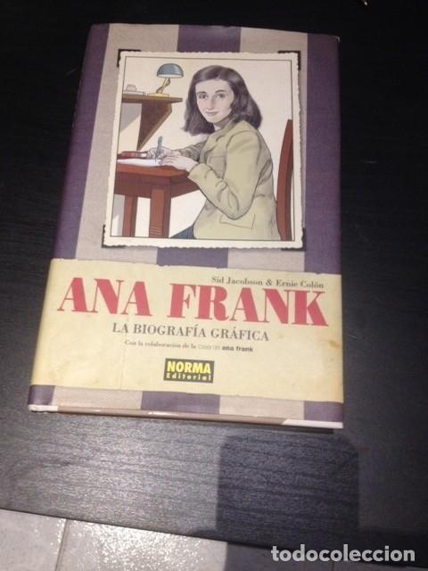 ANA FRANK , LA BIOGRAFIA GRAFICA (Tebeos y Comics - Norma - Otros)