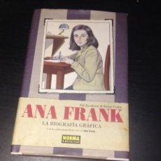 Cómics: ANA FRANK , LA BIOGRAFIA GRAFICA. Lote 71622231