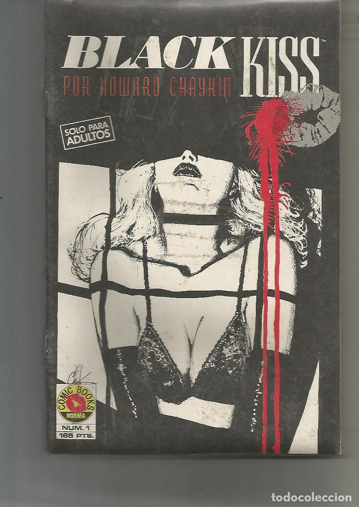 BLACK KISS NORMA EDITORIAL COMPLETA 12 Nº (Tebeos y Comics - Norma - Comic USA)