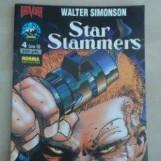 Cómics: STAR SLAMMERS COMPLETA 5 NROS - POSIBLE ENVIO GRATIS - NORMA - WALTER SIMONSON. Lote 102544710