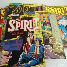 Cómics: THE SPIRIT - 7 PRIMEROS NÚMEROS - NORMA EDITORIAL 1988 (SE PUEDEN VENDER SUELTOS). Lote 92270788