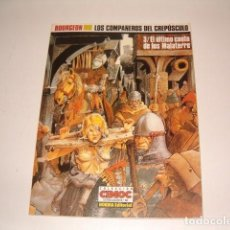 Cómics: BOURGEON. LOS COMPAÑEROS DEL CREPÚSCULO. 3/EL ÚLTIMO CANTO DE LOS MALATERRE. RM78317. . Lote 72216679