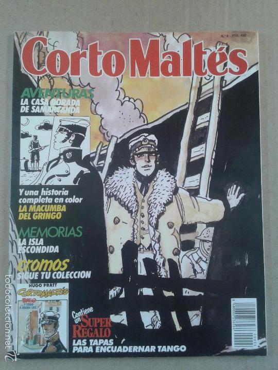 """REVISTA CORTO MALTÉS Nº6 (HUGO PRATT). INCLUYE LA HISTORIA """"LA MACUMBA DEL GRINGO"""". NORMA EDITORIAL. (Tebeos y Comics - Norma - Otros)"""