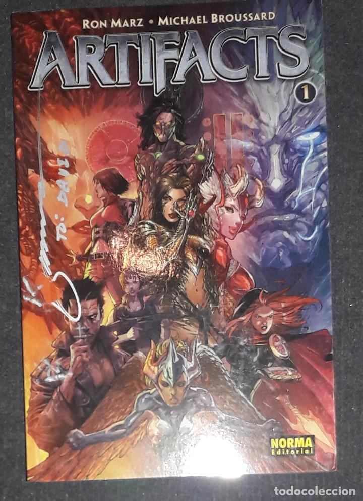 ARTIFACTS 1 RON MARZ - MICHAEL BROUSSARD EDITORIAL NORMA (Tebeos y Comics - Norma - Comic USA)