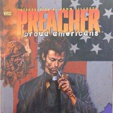 Cómics: PREACHER. PROUD AMERICANS. COMIC EN INGLÉS. DC COMICS VERTIGO.. Lote 73812675