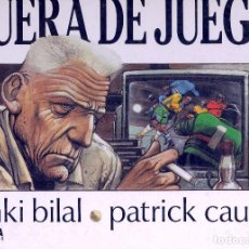 Cómics: FUERA DE JUEGO. EDITORIAL NORMA, 1988. ENKI BILAL Y PATRICK CAUVIN. Lote 73826711