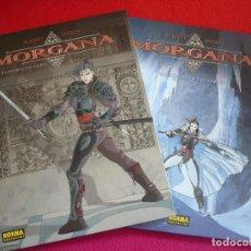 Cómics: MORGANA 1 Y 2 PUERTA DEL CIELO SECRETO LOS KRRITT ( ALBERTI ENOCH ) ¡MUY BUEN ESTADO! NORMA 2003. Lote 73861443