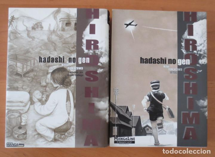 HIROSHIMA 1 Y 2 MANGA (Tebeos y Comics - Norma - Otros)