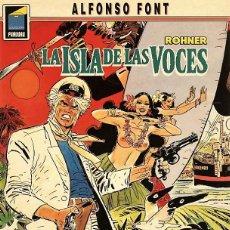 Cómics: ROHNER. LA ISLA DE LAS VOCES DE ALFONSO FONT (NORMA, 1992). Lote 74645139