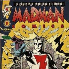 Cómics: MADMAN COMICS NUMERO 1 DE MIKE ALLRED (NORMA, 1997) NUEVO. Lote 74698931