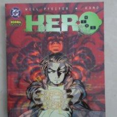 Fumetti: HERO COMPLETA 2 TOMOS - POSIBLE ENVÍO GRATIS - NORMA - WILL PFEIFER & KANO - MUY BUEN ESTADO. Lote 74734111