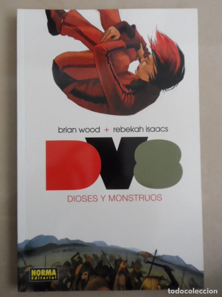 DV8 DIOSES Y MONSTRUOS - NORMA - BRIAN WOOD & REBEKAH ISAACS (Tebeos y Comics - Norma - Comic USA)