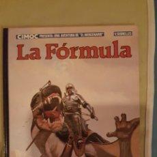 Cómics: EL MERCENARIO 2. LA FORMULA. NORMA. CIMOC. 1983. TAPA DURA. VICENTE SEGRELLES. Lote 75532917