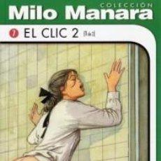 Cómics: COLECCION MILO MANARA EL CLIC 2 (1 DE 2) NUEVO COMIC EROTICO. Lote 75730787
