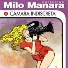 Cómics: COLECCION MILO MANARA CAMARA INDISCRETA NUEVO COMIC EROTICO. Lote 75731155