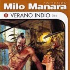 Cómics: COLECCION MILO MANARA VERANO INDIO (1 DE 3) NUEVO COMIC EROTICO. Lote 75731995