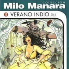 Cómics: COLECCION MILO MANARA VERANO INDIO (2 DE 3) NUEVO COMIC EROTICO. Lote 75732055