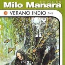 Cómics: COLECCION MILO MANARA VERANO INDIO (3 DE 3) NUEVO COMIC EROTICO. Lote 75732127