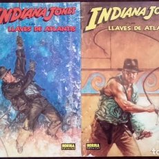 Cómics: INDIANA JONES. LAS LLAVES DE ATLANTIS. CÓMIC BOOKS. NORMA.. Lote 75976483
