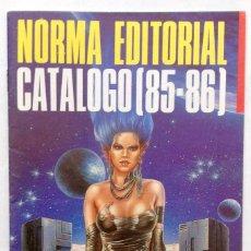Cómics: NORMA EDITORIAL CATÁLOGO 85 86. Lote 76010723