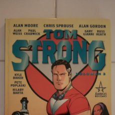 Cómics: TOM STRONG VOLUMEN 2 DE ALAN MOORE, KYLE BAKER, CHRIS SPROUSE, GARY GIANNI, PAUL CHADWICK.... Lote 76012223