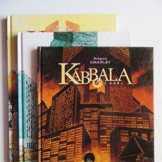 Cómics: KÁBBALA Nº 1, 2 Y 3 COMPLETA - GRÉGORY CHARLET - NORMA - TAPA DURA - MUY BUENO. Lote 76017067