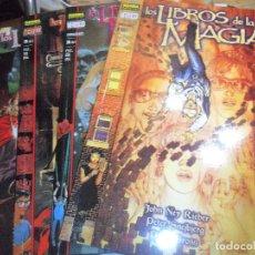 Cómics: LOS LIBROS DE LA MAGIA, CONVOCACIONES - SERIE COMPLETA EN 4 TOMOS - VERTIGO, NORMA EDITORIAL -. Lote 76124639