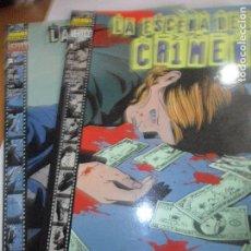 Cómics: LA ESCENA DEL CRIMEN - BRUBAKER/ LARK & PHILLIPS - COMPLETA EN 2 TOMOS - VERTIGO, NORMA EDITORIAL -. Lote 76125967