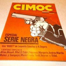 Cómics: CIMOC ESPECIAL SERIE NEGRA. Lote 76600439
