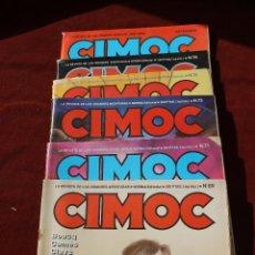 Cómics: LOTE 6 NUMEROS CIMOC, EDITORIAL NORMA.. Lote 112808172