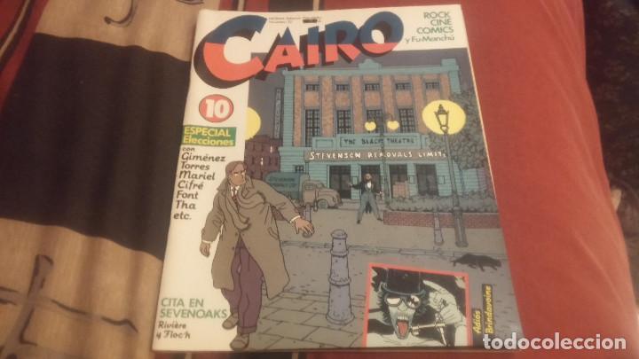 CAIRO Nº10 ESPECIAL ELECCIONES (Tebeos y Comics - Norma - Cairo)