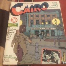 Cómics: CAIRO Nº10 ESPECIAL ELECCIONES. Lote 76834883