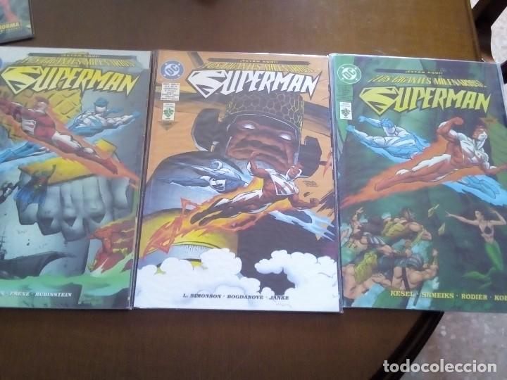 SUPERMAN 3 PRESTIGIOS (Tebeos y Comics - Norma - Otros)